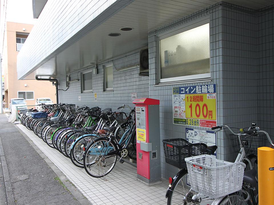 コインパーキング駐輪場